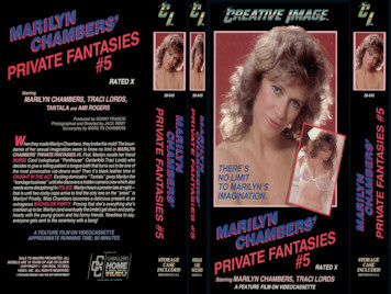 marilyn chambers private fantasies volume 5